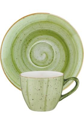 İkram Dünyası Bonna Therapy Türk Kahve Fincan ve Tabağı 6'Lı