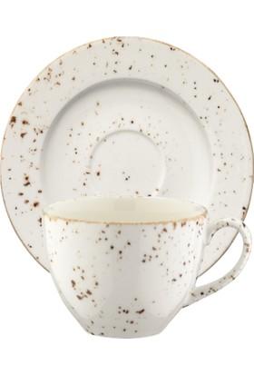 İkram Dünyası Bonna Grain Rita Çay Fincan ve Tabağı 6'Lı