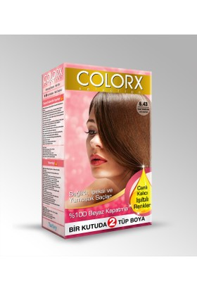 Colorx Saç Boyası 6.43
