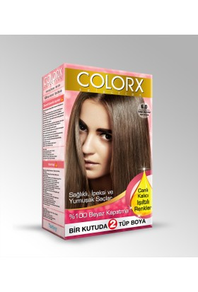Colorx Saç Boyası 6.0