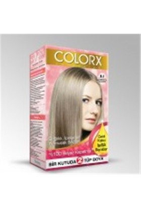 Colorx Saç Boyası Açık Küllü Kumral