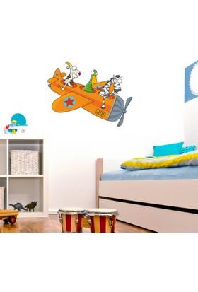 DekorLoft Uçan Hayvanlar Çocuk Odası Duvar Sticker CS-221