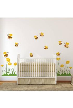 DekorLoft Arılar Çocuk Odası Sticker CS-252