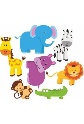 DekorLoft Orman Hayvanları Çocuk Odası Sticker CS-266