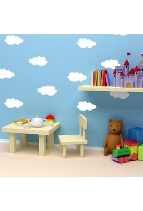 DekorLoft Bulutlar Çocuk Odası Sticker CS-559