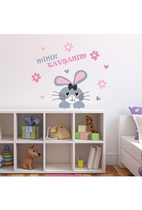 DekorLoft Tavşancık Çocuk Odası Sticker CS-583