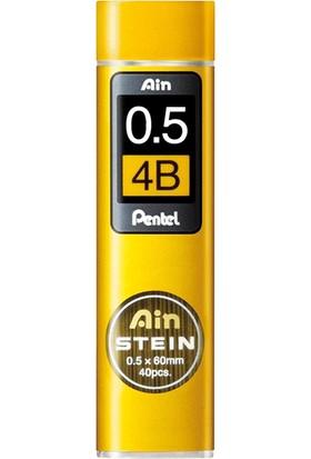 Pentel Hı Polymer 0 5 Mm Steın 4B C275 4B