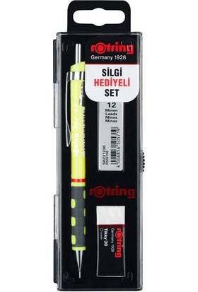 Rotring Tikky Versatil Okul Seti 0.7 Neon Sarı RO-KK07-07