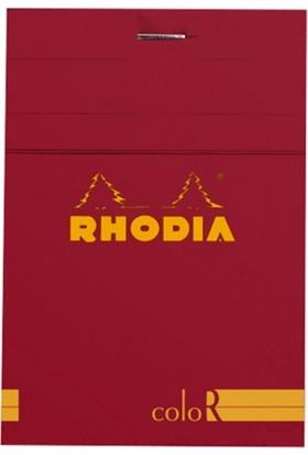 Rhodia 85 120 Çizgili Bloknot Poppy Kpk 90gr Rs 12973