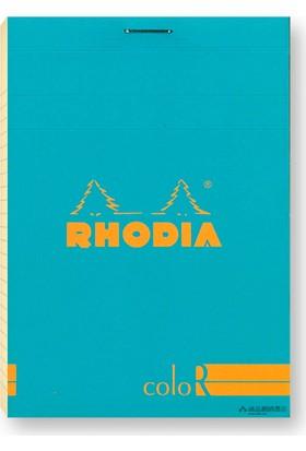 Rhodia 85 120 Çizgili Bloknot Turquoıse Blue Kpk 90gr 12967