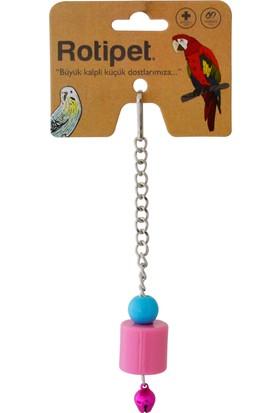 Rotipet Şekilli Tekli Sarkaç Kuş Oyuncağı