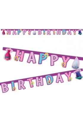 Pandoli Trolls Happy Birthday Banner