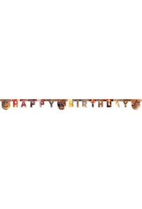 Pandoli Civil War Happy Birthday Banner