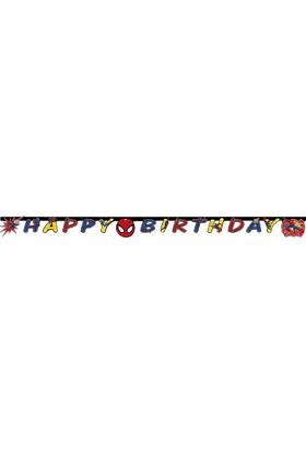 Pandoli Ultimate Spider Power Happy Birthday Banner