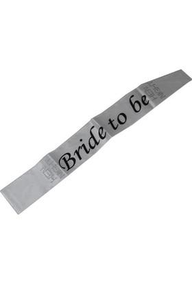 Pandoli Bride To Be Bekarlığa Veda Kuşağı Beyaz Renk