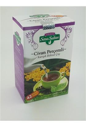 Lokman Sena Sultan Civan Perçemli Hayıt Tohumlu Karışık Çay (84 Gr.) 42'Li Süzen Poş