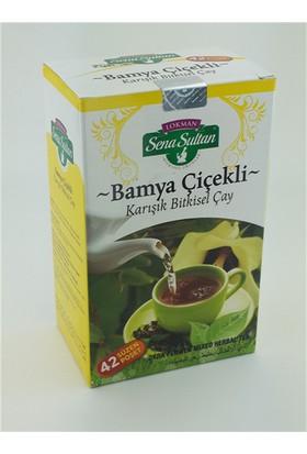 Lokman Sena Sultan Bamya Çiçekli Karışık Çay (84 Gr.) 42'Li Süzen Poşet-Şkr
