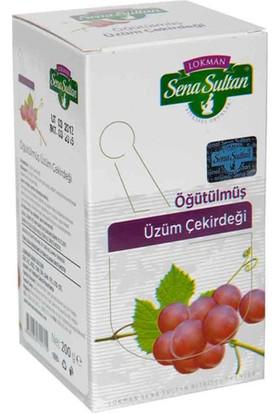 Lokman Sena Sultan Öğütülmüş Üzüm Çekirdeği (200 Gr.)
