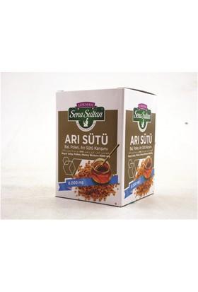 Lokman Sena Sultan Arı Sütü Polen Bal Karışımlı-8000 Mg