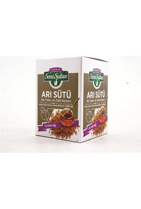 Lokman Sena Sultan Arı Sütü Polen Bal Karışımlı-12000 Mg