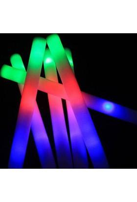 Pandoli Işıklı Sünger Çubuk Işıklı Kauçuk Parti Sopası
