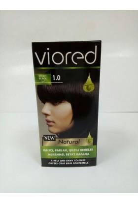 Viored Saç Boyası 1,0 Siyah