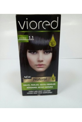 Viored Saç Boyası 1,1 Mavi Siyah
