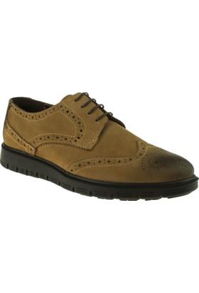 Alisolmaz 2933 Oxford Bağlı Kahverengi Erkek Ayakkabı