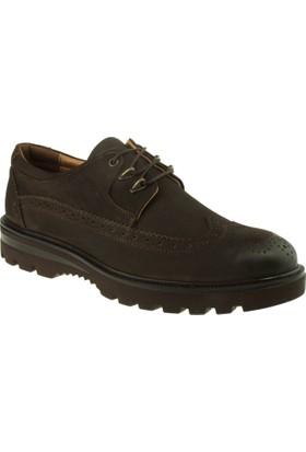 Alisolmaz 335 Oxford Bağlı Kahverengi Erkek Ayakkabı