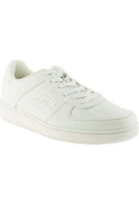 Jump 16313 Bağlı Günlük Beyaz Erkek Spor Ayakkabı