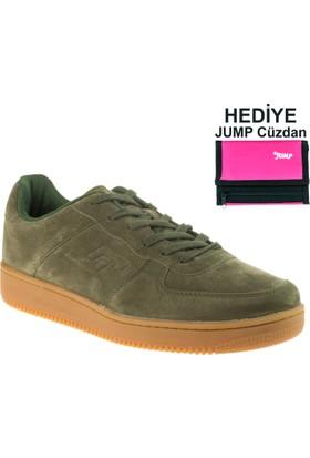 Jump Kadın 16312 Casual Bağlı Haki Spor Ayakkabı