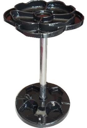Deluxe Boya Sehpası Güllü Siyah Dlx-783