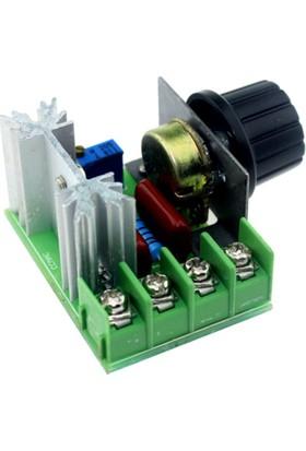 Mesut Mühendislik Motor Hız Kontrol, Dimmer Devresi 2000 Watt