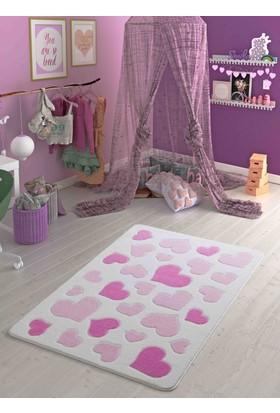 Confetti Sweet Love 133X190 Pembe Oymalı