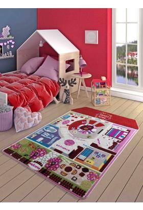 Confetti Pretty Home 133X190 Kırmızı Oymalı