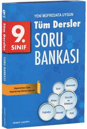 9. Sınıf Tüm Dersler Soru Bankası (Yeni Müfredata Uygun)