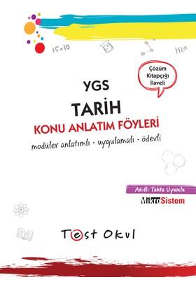 Ygs Tarih Konu Anlatım Föyü (34 Föy + Çözüm Kitapçığı)