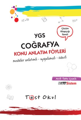 Ygs Coğrafya Konu Anlatım Föyü (36 Föy + Çözüm Kitapçığı)