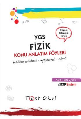 Ygs Fizik Konu Anlatım Föyü (53 Föy + Çözüm Kitapçığı)