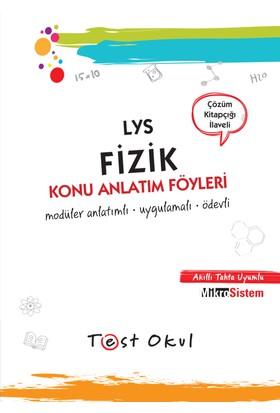 Lys Fizik Konu Anlatım Föyü (55 Föy + Çözüm Kitapçığı)
