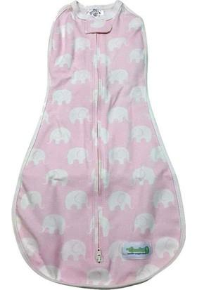 Woombie Kundak Baby Pink Elephant