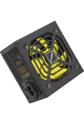 Frisby FOEM FPS-G60F12B 600W Power Supply (Aktif PFC, 12cm Fan)