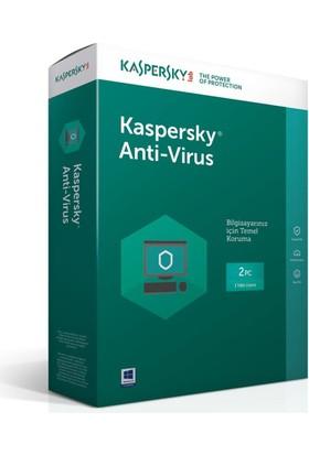 Kaspersky Antıvırus 2017 2Kul 1Yıl 5060437608618