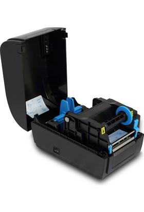 "Possıfy By33X 300 Dpi 3"" 80 Mm Usb Seri Lpt Ethernet Termal Transfer/ Direk Term By33X"