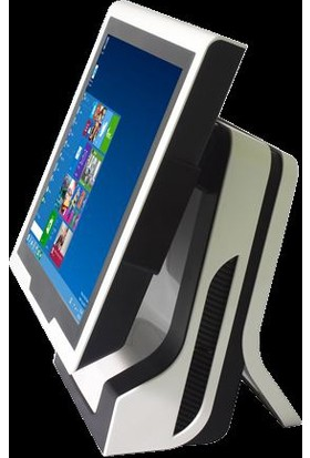 """Possıfy Desire J1900 4Gb 64 Ssd 15""""Dokunmatik Beyaz Endustriyel Ip67 Desırebeyaz"""