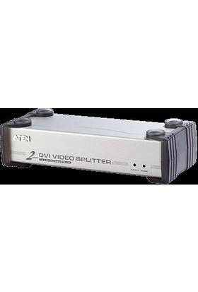 Aten Vs162-At-G 2 Port Dvı Video Splitter Vs162-At-G