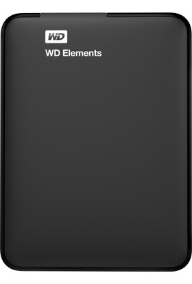 "Wd Ext 2,5"" 3Tb Elements Usb3.0 Siyah Wdbu6Y0030Bbk-Wesn"