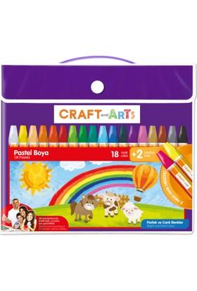 Craft and Arts Pastel Boya 18+2'li Çanta