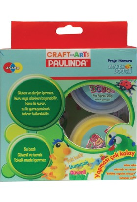 Craft And Arts Paulinda Proje Hamuru 4X28Gr