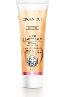 Organique Nude Beauty Balm - Normal ve Kuru Ciltler İçin 30 ml.